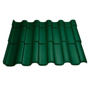 Металлочерепица МП Монтекристо зеленый
