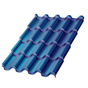 Металлочерепица МП Монтерроса синий