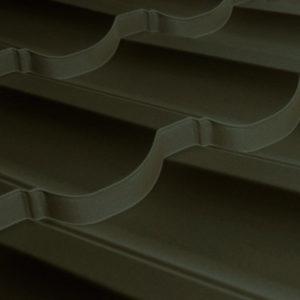 Металлочерепица МП Трамонтана темно-коричневый