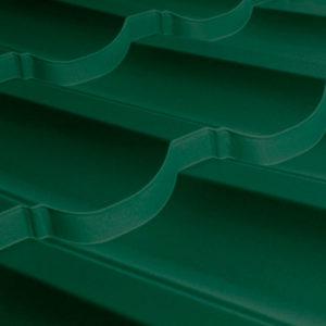 Металлочерепица МП Трамонтана зеленый