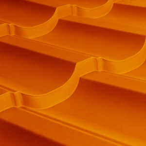Металлочерепица МП Трамонтана медный Copper AGNETA
