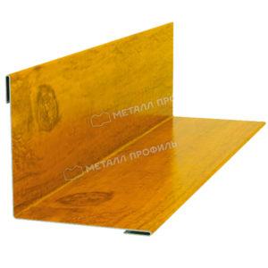 Планка угла наружного/внутреннего 75х75 Ecosteel золотой дуб