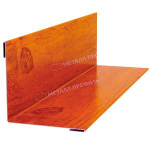 Планка угла наружного/внутреннего 75х75 Ecosteel кедр