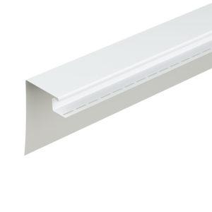 Фасадный околооконный профиль 230 мм Docke белый