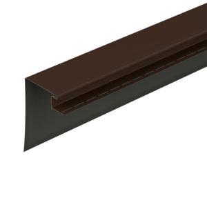 Фасадный околооконный профиль 230 мм Docke коричневый