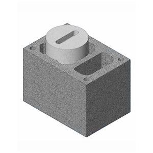 Комплект блок-опора Schiedel UNI одноходовой с вентиляцией
