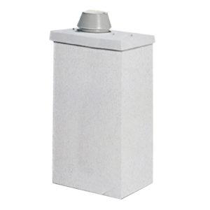Комплект UraTOP Schiedel UNI одноходовой с вентиляцией