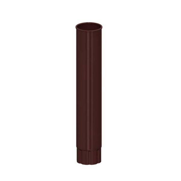 Труба водосточная МП Гранд Систем коричневый RAL8017