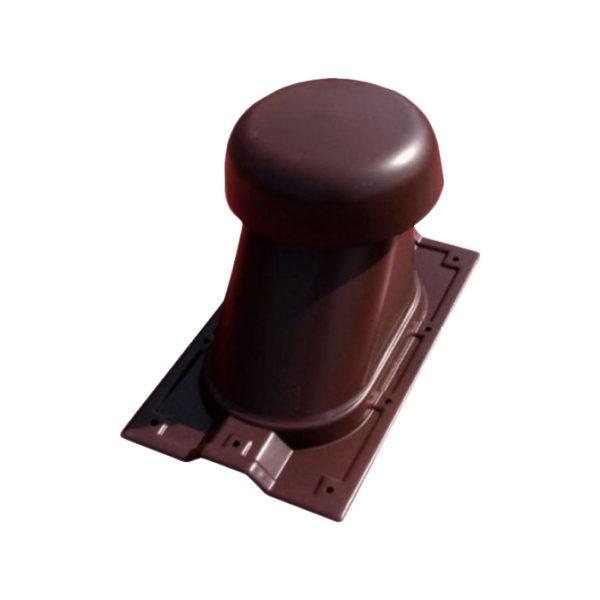 Выход универсальный МП Ø110/200 на профнастил МП-20 коричневый