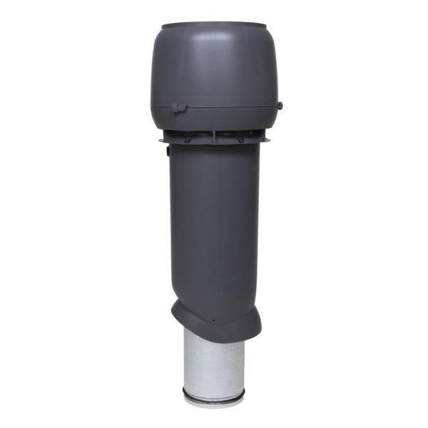 Вентиляционный выход утепленный 160/ИЗ/700 vilpe серый