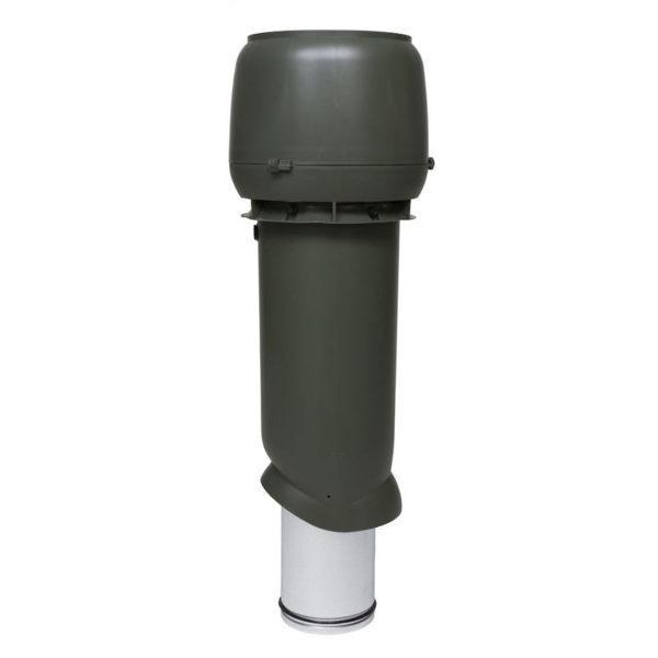 Вентиляционный выход утепленный 160/ИЗ/700 vilpe зеленый