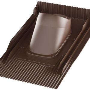 UNITILE 2K проходной элемент Vilpe коричневый