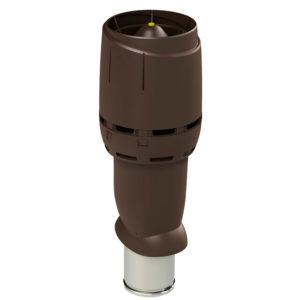 Вентиляционный выход утепленный 160/ИЗ/700 FLOW vilpe коричневый
