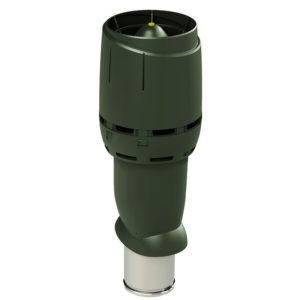 Вентиляционный выход утепленный 160/ИЗ/700 FLOW vilpe зеленый