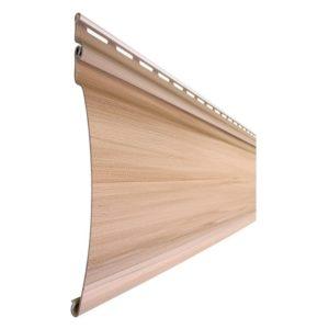 Tecos сайдинг Оцилиндрованный брус Natural wood effect канадский дуб