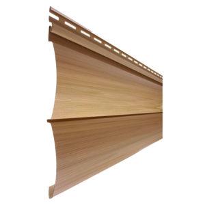 Tecos сайдинг Двойной оцилиндрованный брус Natural wood effect ливанский кедр