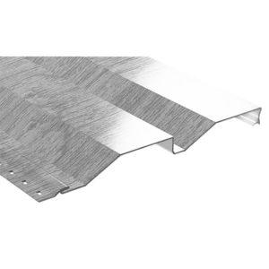 Корабельная доска металлический сайдинг Ecosteel беленый дуб