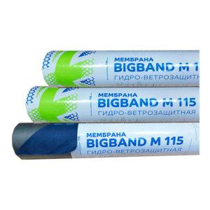 Супердиффузионная гидроизоляционная мембрана BIGBAND М 115