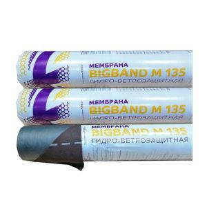 Супердиффузионная гидроизоляционная мембрана BIGBAND М 135