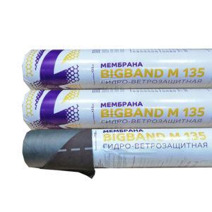 BIGBAND М 135 супердиффузионная гидроизоляционная мембрана