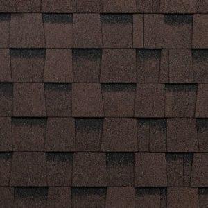 Технониколь Шинглас коллекция Фазенда коричневый