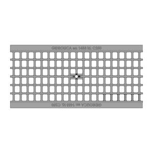 Решетка водоприемная Gidrolica Standart DN200 ячеистая чугунная