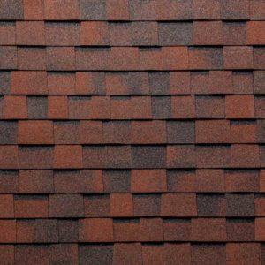 Tegola Top Shingle коллекция Премьер красно-коричневый