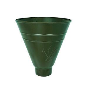 Aquasystem воронка водосборная круглая темно-зеленый RR11