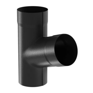 Aquasystem тройник трубы черный RR33 PURAL MATT