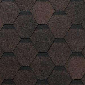 Технониколь Шинглас коллекция Оптима коричневый