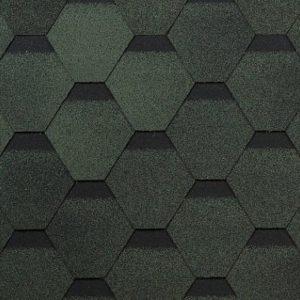 Технониколь Шинглас коллекция Оптима зеленый