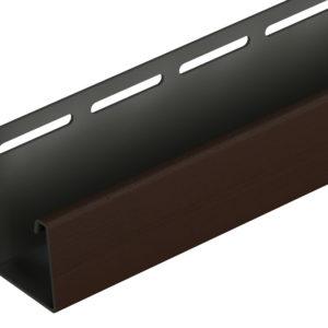 J-профиль узкий 30 мм Docke Lux BERGART шоколад