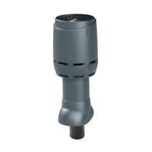 Вентиляционный выход 110P/ИЗ/350 FLOW Vilpe серый