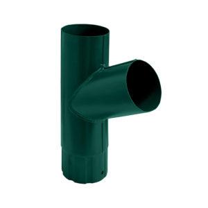 Grand Line тройник трубы Ø125/90 мм RAL 6005 зеленый мох