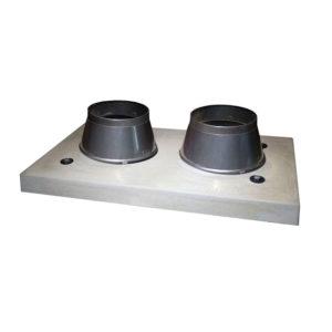 Верхний комплект Schiedel UNI двухходовой дымоход без вентиляции