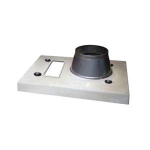 Верхний комплект Schiedel UNI одноходовой дымоход с вентиляцией