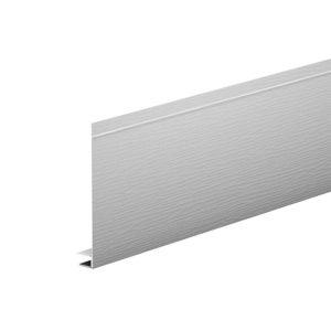 J-фаска алюминиевая 2 метра Aquasystem белый