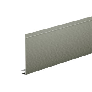 J-фаска алюминиевая 2 метра Aquasystem серый мох