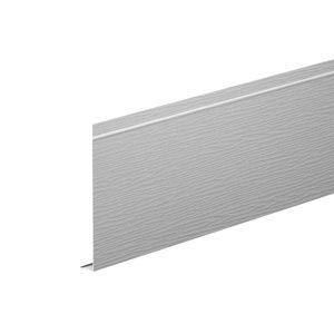 L-профиль алюминиевый 2 метра Aquasystem белый