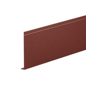 L-профиль алюминиевый 2 метра Aquasystem коричневый