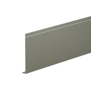 L-профиль алюминиевый 2 метра Aquasystem серый мох