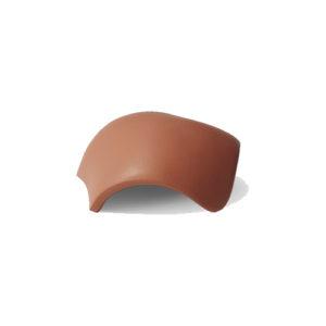 Вальмовая черепица Braas коричневый