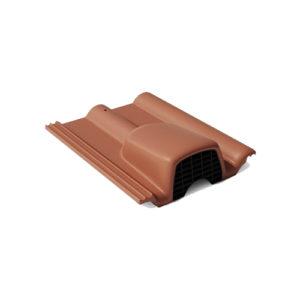 Вентиляционная черепица Braas франкфуртская коричневый