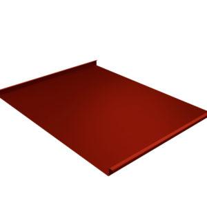 Двойной стоячий фальц красный RR29