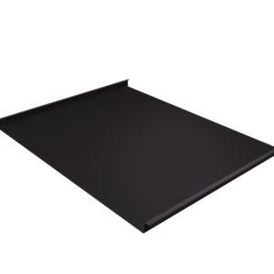 Двойной стоячий фальц темно-коричневый RR32