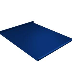 Двойной стоячий фальц синий RAL5005