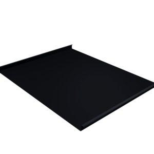 Двойной стоячий фальц черный RAL9005
