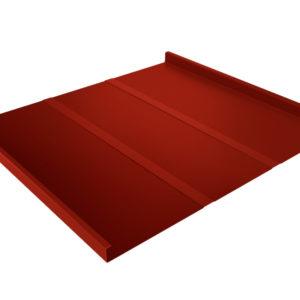 Двойной стоячий фальц Line красный RR29