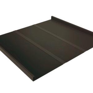 Двойной стоячий фальц Line темно-коричневый RR32