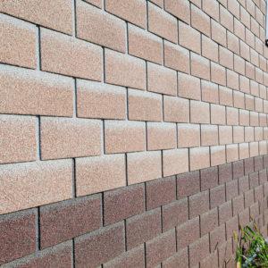 Технониколь Шинглас фасадная плитка Hauberk Античный кирпич